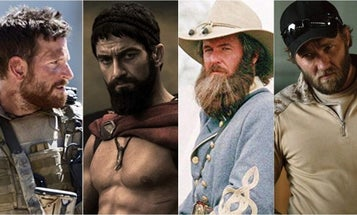 A definitive ranking of the best war movie beards