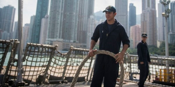 No liberty in Hong Kong for US Navy sailors as China tries to strangle democracy in its cradle