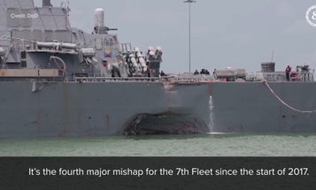 Navy putting physical throttles on destroyers after touch-screen system contributed to deadly collision