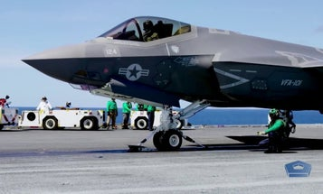 The Navy's new supercarrier arresting gear can now recover all of the service's aircraft — except the F-35