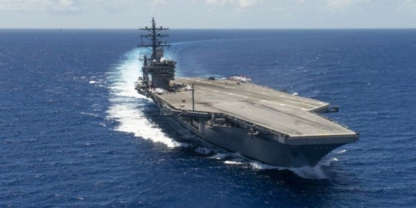 The Navy is having sailors train on an ineffective aircraft carrier weapon it's getting rid of