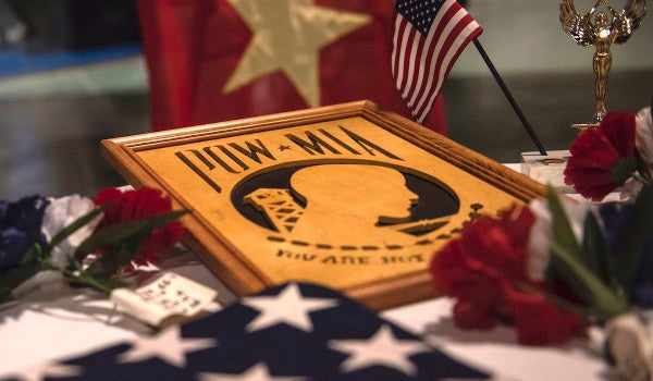 A veterans group is fighting to keep a Bible at the oldest continuing POW-MIA vigil in the country