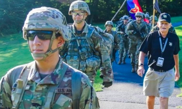 We salute the 87-year-old West Point grad who can still smoke plebes on long ruck marches