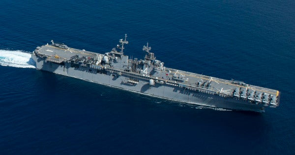 The Navy and Marine Corps are on the hunt for a new light amphibious warship