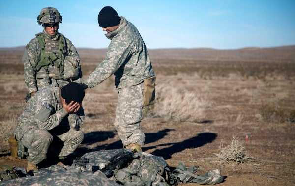 This official US military photo title is both totally absurd and deeply revealing