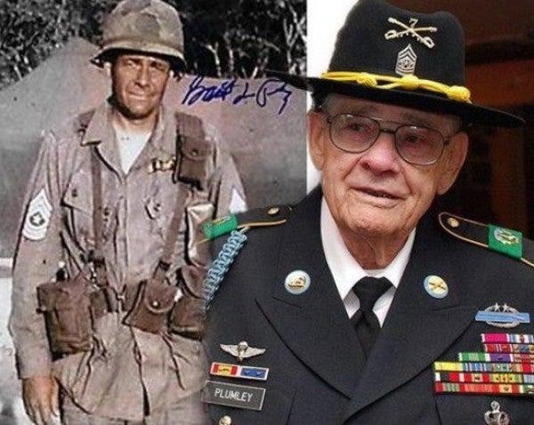 Fort Hood Air Assault School renamed after legendary Sgt. Maj. Basil Plumley