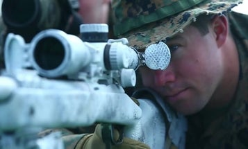 This Marine Corps sniper nailed a target nearly 8,000 feet away. Here's how he took one of the toughest shots of his life