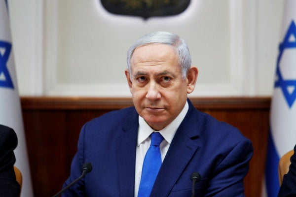 Netanyahu hints that Israel may have been behind bombings of Iran-backed militants in Iraq