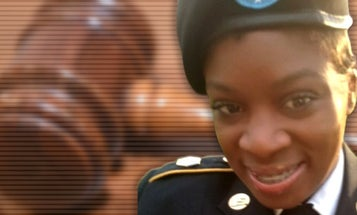 Army reservist was charged for shooting tire of truck she believed would run her over. A jury acquitted her in 40 minutes