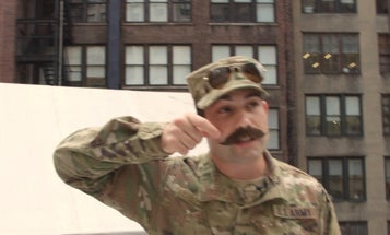 Every guy with a mustache in your platoon