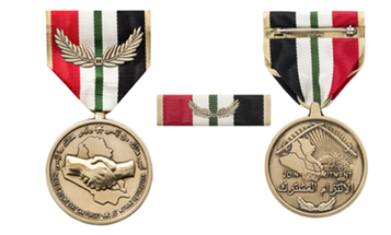 A group of vets are raising money to pay for a medal the Iraqi government awarded them, but never delivered