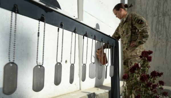Families of Afghanistan fallen fear their memorials will be left behind
