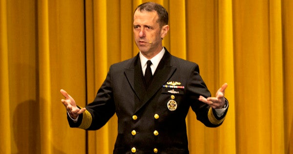 Adm. John Richardson just showed he still doesn't understand why he failed as Chief of Naval Operations