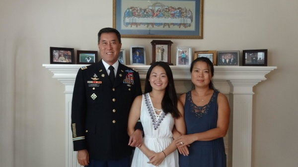 A retired Army officer is fighting to save his adopted daughter from deportation