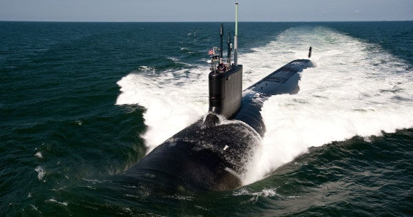 'Well-built machines of war' — Esper touts the US submarine fleet as a critical edge over Russia and China