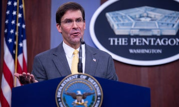 VA to take lead on fighting potential military service-linked cancer, Esper says