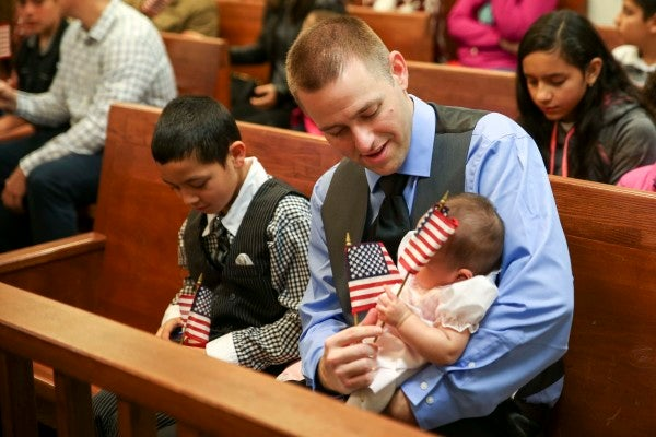 USCIS officials clarify how military families might be affected by the agency's new citizenship policy