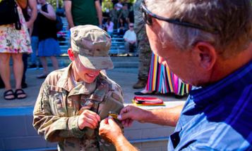 Female airman becomes first to earn Army Ranger tab
