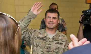 Pete Buttigieg on whether he's a 'combat vet,' ending the war in Afghanistan, 'Top Gun' and tattoos