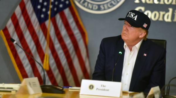 President Trump at Desk