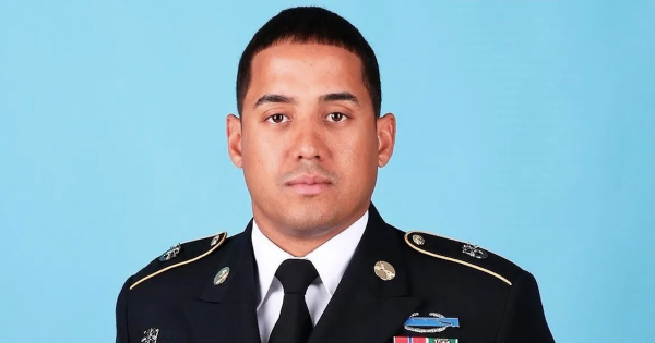 'I used to be your angel and now, you're mine' — the 9-year-old daughter of a fallen Green Beret eulogizes her dad at his funeral