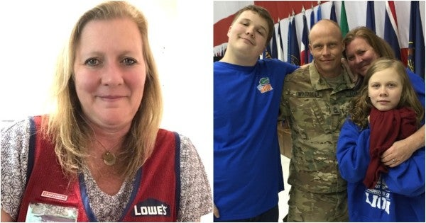 How a career at Lowe's led to stability for one military spouse