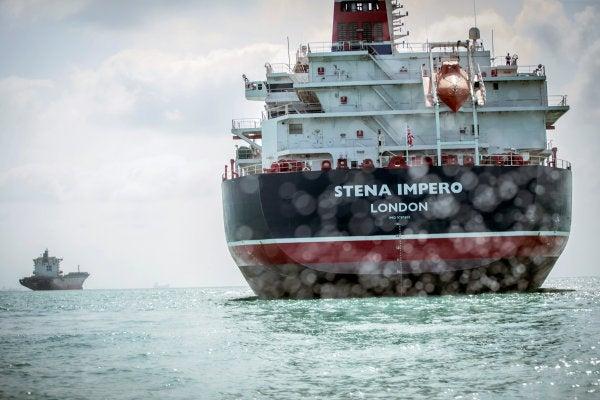Iran to release seven crew members of captured British oil tanker