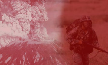 The untold story of how more than 100 soldiers survived the explosion of Mount St. Helens