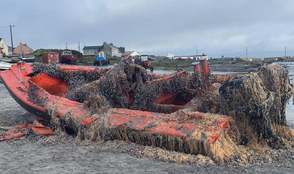 A US Navy boat from Norfolk washed up on Ireland's coast and everyone freaked the hell out