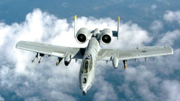 An A-10 accidentally fired a rocket near Tucson during training mission