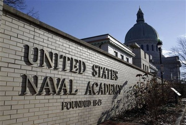The Naval Academy is investigating an apparent noose found at a construction site