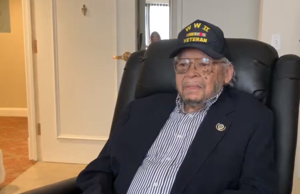 A WWII veteran just got an honorable discharge from the Army, 75 years after he was booted for being black