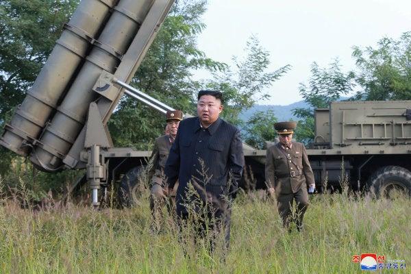 North Korea's 'Rocket Man' finally lives up to Trump's nickname
