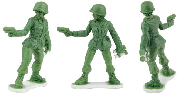 A toy company will make little green women soldiers after a 6-year-old girl wrote them a letter