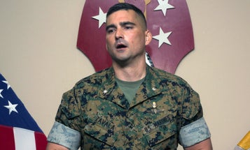 Marine lieutenant colonel charged with assault for allegedly hitting his wife right before Christmas