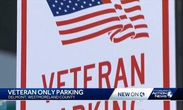 'Veteran Only' parking spots don't go far enough
