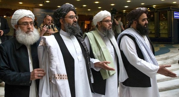 The Taliban sent a team to Russia after US peace talks collapsed