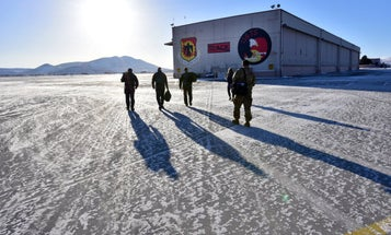 The Air Force wants to develop heated boots to help downed pilots survive in extreme cold