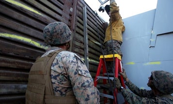 Pentagon halts plans to build 20-mile stretch of US-Mexico border wall
