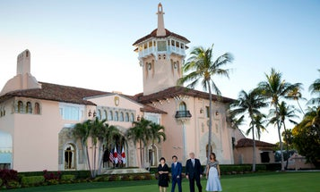 A Florida Marine Corps unit wants to party at Trump's Mar-a-Lago club