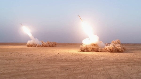Two rockets fired at Green Zone in Baghdad