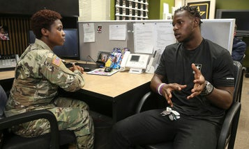 A stray bullet cost a Philly rugby star his Army dreams. Then the brass read his story