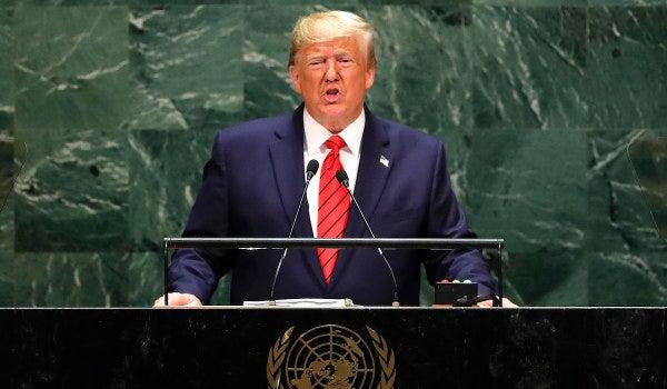 Trump denounces Iran's 'blood lust' at the UN