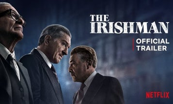 Robert De Niro goes from brutal ex-soldier to notorious hitman in the new trailer for 'The Irishman'