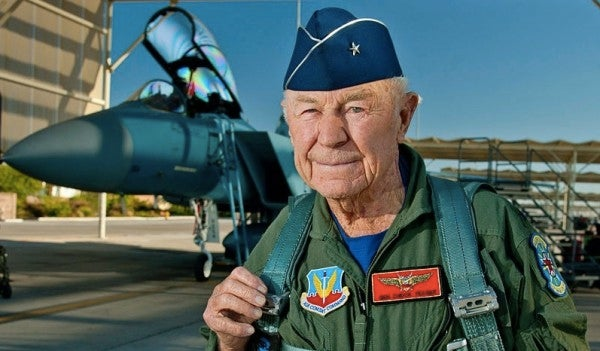 Legendary Air Force pilot Chuck Yeager is suing Airbus for using his name to promote its new helo