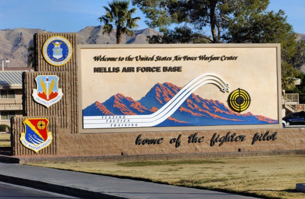 Nellis Air Force Base master sergeant arrested for selling coke, meth, and an AK-47