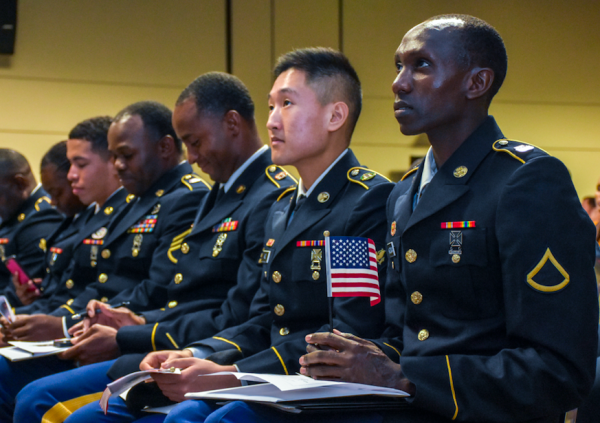 USCIS is reducing when and where naturalization services are available to US troops around the world