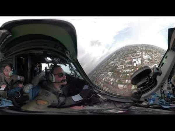 This cockpit video of a C-17 zipping by skyscrapers in Australia will make you sh*t your flight suit
