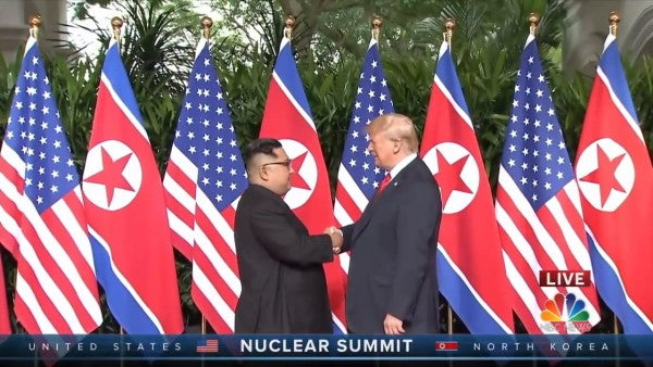 The US and North Korea are holding fresh talks for the first time since February