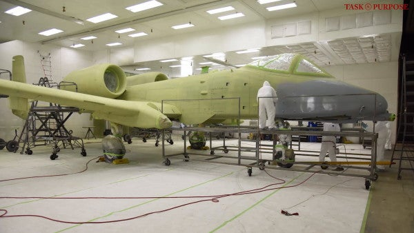 This A-10 with a P-51 Mustang paint job makes us want to BRRRT like it's 1945